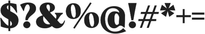 Albra Text Black otf (900) Font OTHER CHARS