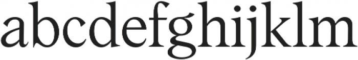 Albra Text Light otf (300) Font LOWERCASE