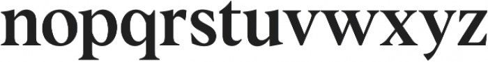 Albra Text Medium otf (500) Font LOWERCASE