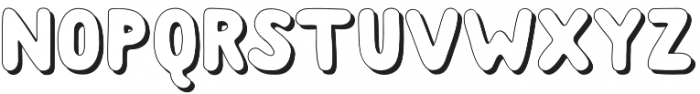 Albus Grand Shadow otf (400) Font UPPERCASE