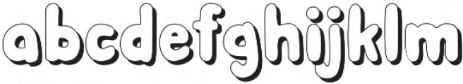Albus Grand Shadow otf (400) Font LOWERCASE
