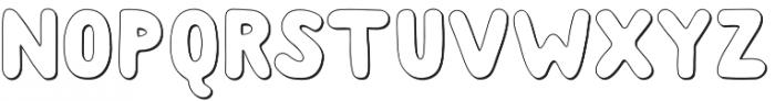 Albus Shadow otf (400) Font UPPERCASE