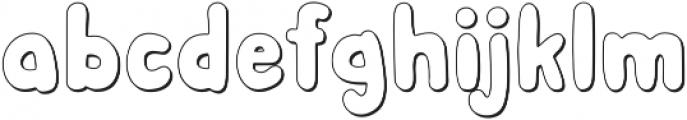 Albus Shadow ttf (400) Font LOWERCASE