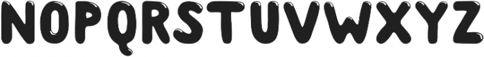 Albus Shine ttf (400) Font UPPERCASE
