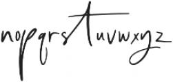 Alchemary Regular otf (400) Font LOWERCASE