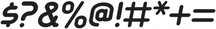 Aldin Bold Oblique otf (700) Font OTHER CHARS