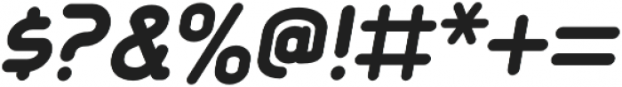 Aldin ExtraBold Oblique otf (700) Font OTHER CHARS