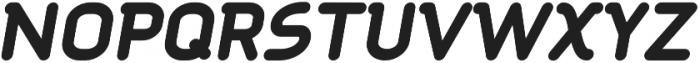 Aldin ExtraBold Oblique otf (700) Font UPPERCASE