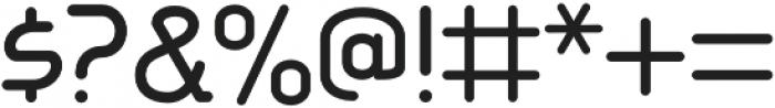 Aldin otf (400) Font OTHER CHARS