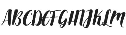 Aldine otf (400) Font UPPERCASE