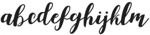Aldine otf (400) Font LOWERCASE