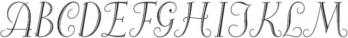 Alea Initials otf (400) Font LOWERCASE