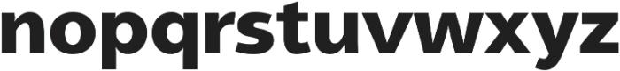Aleante Sans Black ttf (900) Font LOWERCASE