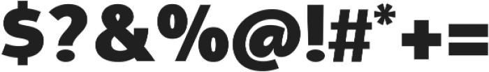 Aleante Sans ExtraBlack ttf (900) Font OTHER CHARS