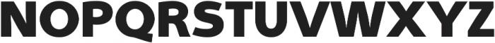 Aleante Sans ExtraBlack ttf (900) Font UPPERCASE