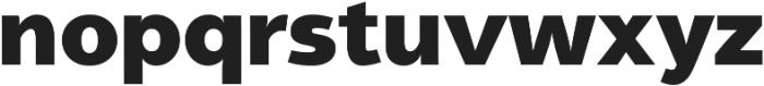 Aleante Sans ExtraBlack ttf (900) Font LOWERCASE