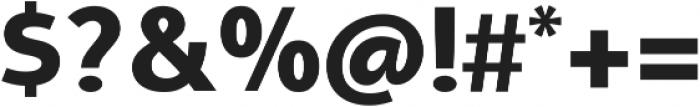 Aleante Sans ExtraBold ttf (700) Font OTHER CHARS
