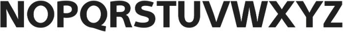 Aleante Sans ExtraBold ttf (700) Font UPPERCASE