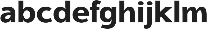 Aleante Sans ExtraBold ttf (700) Font LOWERCASE