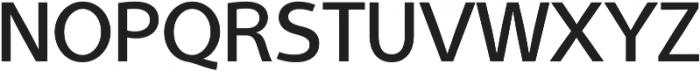 Aleante Sans Medium ttf (500) Font UPPERCASE