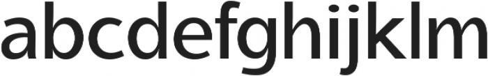 Aleante Sans Medium ttf (500) Font LOWERCASE
