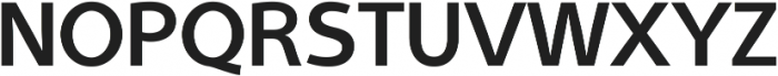 Aleante Sans SemiBold ttf (600) Font UPPERCASE