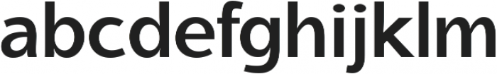 Aleante Sans SemiBold ttf (600) Font LOWERCASE