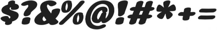 Alemo Italic otf (400) Font OTHER CHARS