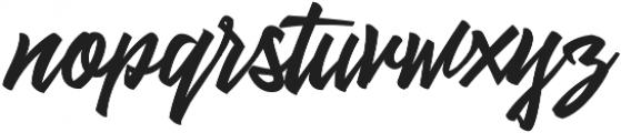Alentine otf (400) Font LOWERCASE