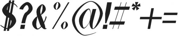 Alex Black-Italic otf (900) Font OTHER CHARS