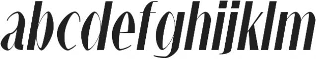 Alex Black-Italic otf (900) Font LOWERCASE