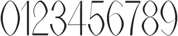 Alex Light otf (300) Font OTHER CHARS