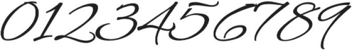 AlexBrush otf (400) Font OTHER CHARS