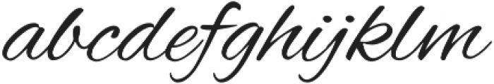 AlexBrush otf (400) Font LOWERCASE
