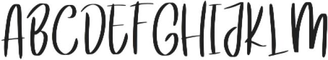 Alexa ttf (400) Font UPPERCASE