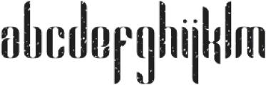 Alexandria 2Rough otf (400) Font LOWERCASE