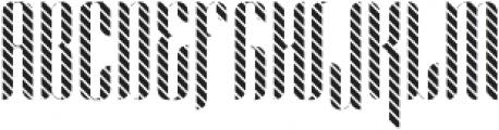 Alexandria Lines otf (400) Font UPPERCASE
