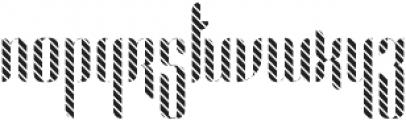 Alexandria Lines otf (400) Font LOWERCASE