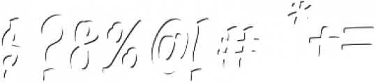 Alexandria Script Highlight Medium otf (300) Font OTHER CHARS