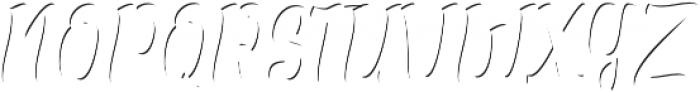 Alexandria Script Highlight Medium otf (300) Font UPPERCASE