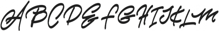 Alexandro Benima otf (400) Font UPPERCASE