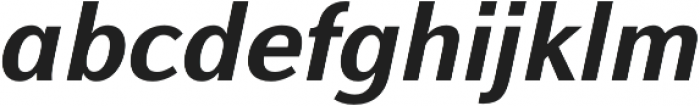 Alfabetica Heavy otf (800) Font LOWERCASE
