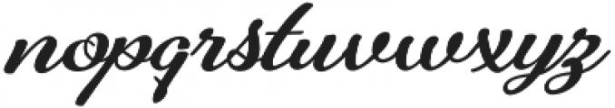 Alfons Brush Bold otf (700) Font LOWERCASE