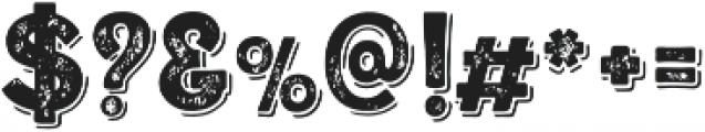 Alfons Display Black SP otf (900) Font OTHER CHARS