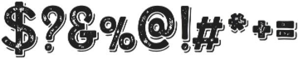 Alfons Display Regular SP otf (400) Font OTHER CHARS