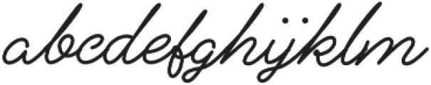 Alfons Script Medium otf (500) Font LOWERCASE