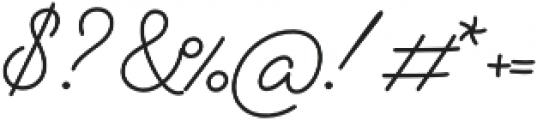 Alfons Script otf (400) Font OTHER CHARS