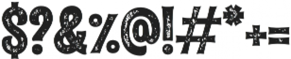 Alfons Tiki Printed otf (400) Font OTHER CHARS