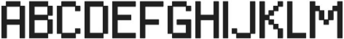 Algol Regular otf (400) Font UPPERCASE