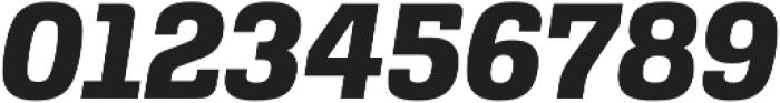 Alianza Italic 800 otf (800) Font OTHER CHARS
